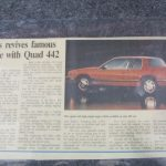 1991 Oldsmobile Cutlass full